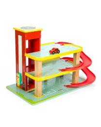 Le Toy Van - Dinos Garage - Holzspielset