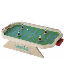 Weykick - Hölzernes rechteckiges Fußballspiel - Modell 7500G