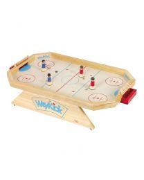 Weykick - Hölzernes achteckiges Eishockeyspiel - Modell 8500