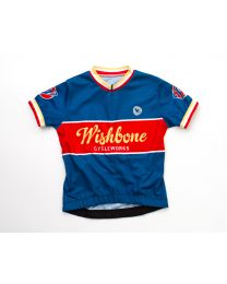 Wishbone Bike - Radtrikot - Blau L