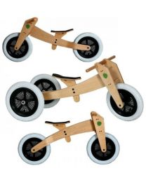 Wishbone Bike - 3-in-1 Natural - Holz Laufrad