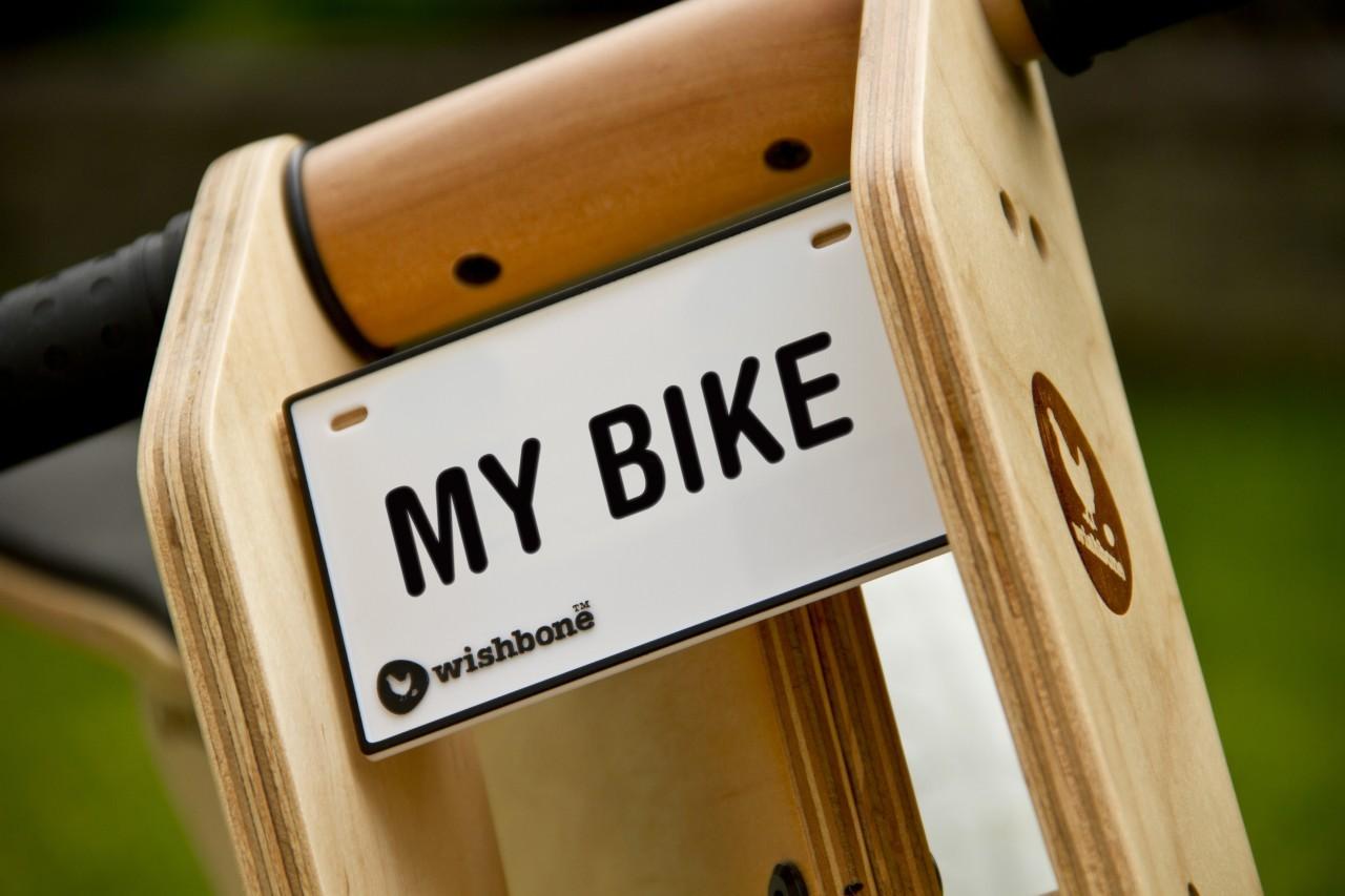 Ihr Name auf Ihrem Wishbone bike