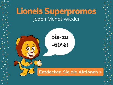 4 superpromo's tot -60%